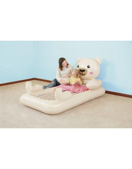 Lit gonflable enfant - Nounours Dreamchaser - Up In & Over - 188 x 102 x 89 cm
