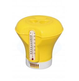 Doseur flottant - D. 18,5 cm pour pastilles 200 g - Thermomètre intégré