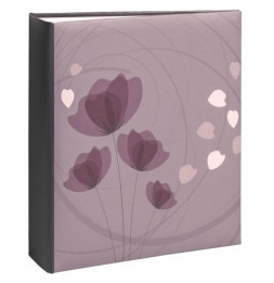 Album photo à pochettes 200 mémos Ellypse 2 - Violet