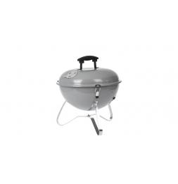 Barbecue à charbon spérique - D 35 x H 36 cm - Gris