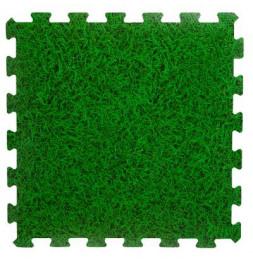 Tapis de sol modulable en mousse - 8 pièces - L 50 x l 50 cm - Vert