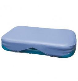 Bâche de protection pour piscine - L 305 x l 183 cm - Bleu