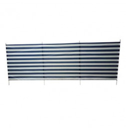 Paravent de plage - L 3 x H 1m - Bleu