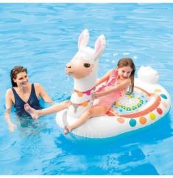 Bouée gonflable Lama - L 135 x l 94 x H 112 cm - Intex