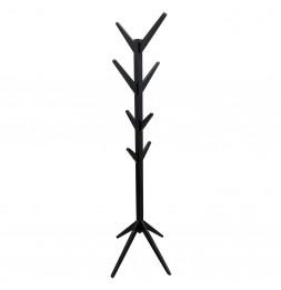 Portemanteau arbre - L 44.5 x l 44.5 x H 178 cm - Noir