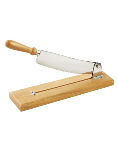 Trancheuse à pain à levier - Couteau à pain  inox