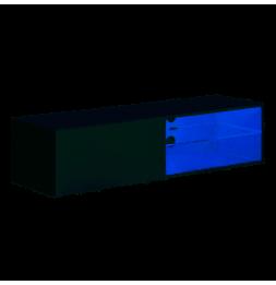 Banc TV mural Switch RTV 4 - L 120 x P 40 x H 30 cm - Blanc