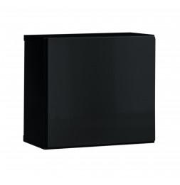 Armoire suspendue Switch SW 5 - L 30 x P 30 x H 30 cm - Noir