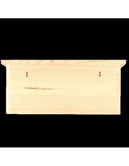 Nichoir appartement - L 16,8 l 46,8 x H 20,5 cm - Pin