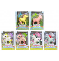 Mon Petit Poney : Assortiment Heart Throb, Sparkler, Surprise, Posey, Cherries Jubilee, Gusty - Jouets