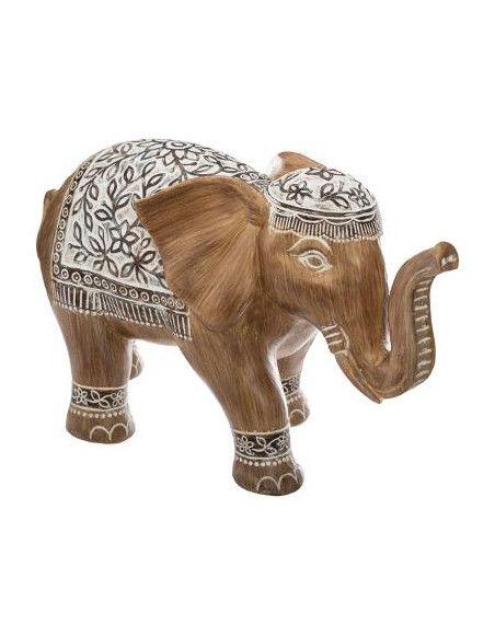Eléphant en résine - H 24 cm