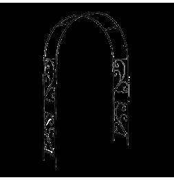 Arche pour roses - L 37 x l 152 x H 217,5 cm - Décors volutes