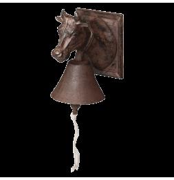 Cloche vache - L 16,2 x l 12 x H 18,1 cm - Fonte
