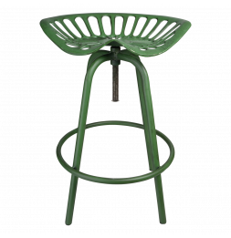 Chaise style tracteur - Fonte - Vert