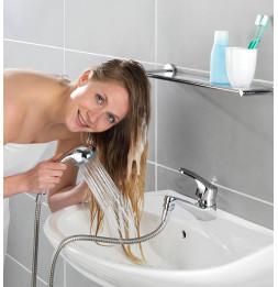Douchette pour lavabo - 150 cm - Inox