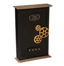 Boîte à clés Flower - H 38,5 cm - Noir