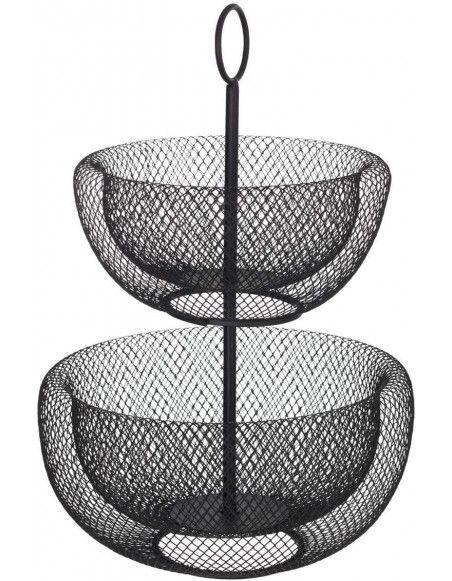 Corbeille à fruits - 5five - D 29 cm - Noir