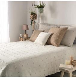 Couvre-lit en coton tissé - 180 x 220 cm - Fileo - Blanc
