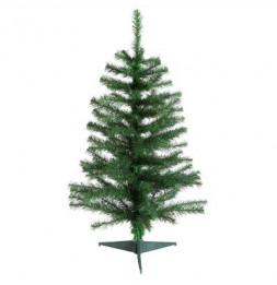Sapin de Noël - D 56 cm x H 100 cm - Elégant - Vert