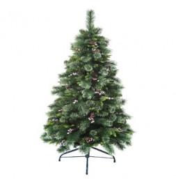 Sapin de Noël - D 88 cm x H 210 cm - Wyoming -  Vert