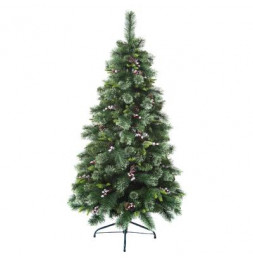 Sapin de Noël - D 108 cm x H 180 cm - Wyoming -  Vert