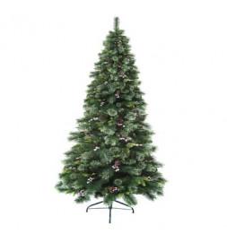 Sapin de Noël - D 128 cm x H 210 cm - Wyoming -  Vert