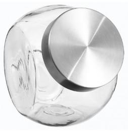 Bocal à bonbons en verre - L 17,4 cm x l 12,8 cm