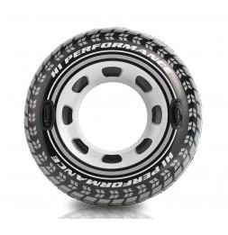 Bouée pneu gonflable - 114 cm - Jeu de piscine ou de plage
