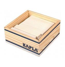 Kapla - Carré de 40 planchettes en bois - Blanc