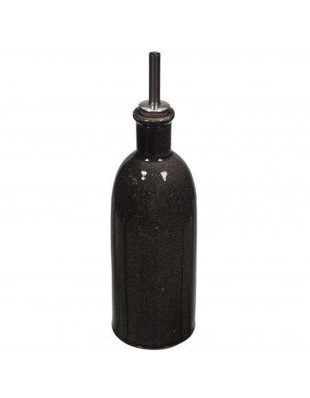 Bouteille à huile et vinaigre - 40 CL - Noir