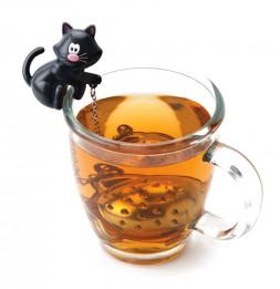 Boule à thé poisson immergé - Infuseur chat