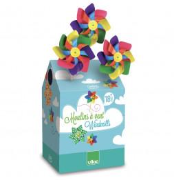 42 moulins à vent multicolores - Vilac - Jeux et jouets