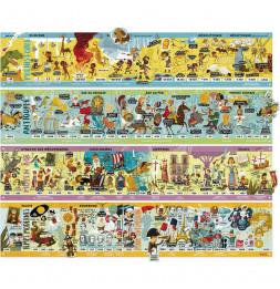 Grande Frise historique magnétique - Vilac - Jeux et jouets