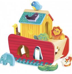 Arche des animaux des formes - Vilac - Jeux et jouets