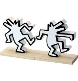 Paire de serre-livres Keith Haring - Vilac - Jeux et jouets