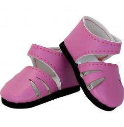 Chaussures à bride coloris rose pour poupée MINOUCHE T34 cm - Vilac - Jeux et jouets