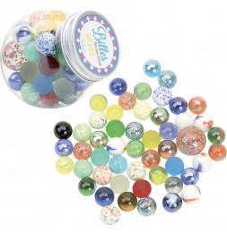 Bonbonnière de 50 billes assorties - Vilac - Jeux et jouets