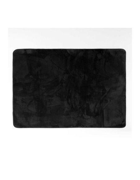 Tapis rectangulaire - L 170 x H 120 cm - Noir