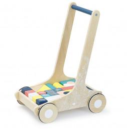 Chariot de cubes Sous la canopée - Vilac - Jeux et jouets
