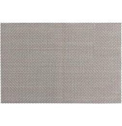 Lot de 4 sets de table - L 45 cm x l 30 cm - Marbling - Taupe et blanc