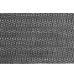 Lot de 4 sets de table - L 45 cm x l 30 cm - Marbling - Noir et blanc