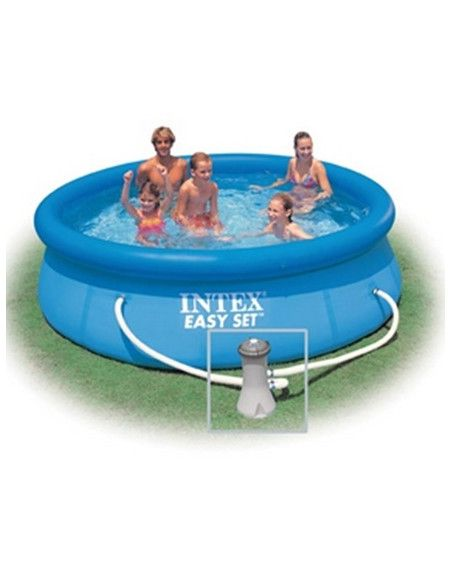 Kit piscine autoportante 3m05 - Piscine ronde - Easy Set - Intex