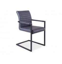 Chaise - Solide - L 47 cm x l 44 cm x H 87 cm - Gris