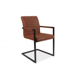 Chaise - Solide - L 47 cm x l 44 cm x H 87 cm - Marron
