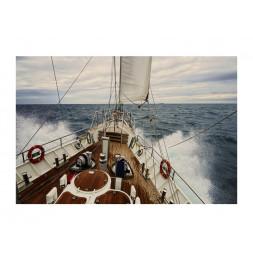 Tableau  en verre - Yacht - L 120 cm x H 80 cm