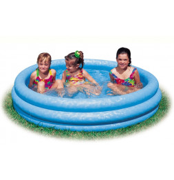 Piscine ronde gonflable - Intex - Bleu