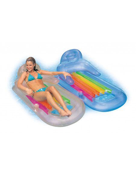 Fauteuil gonflable de piscine - King cool - Intex