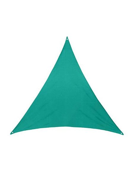 Voile d'ombrage triangulaire - Toile solaire 2 x 2 x 2 m - Vert