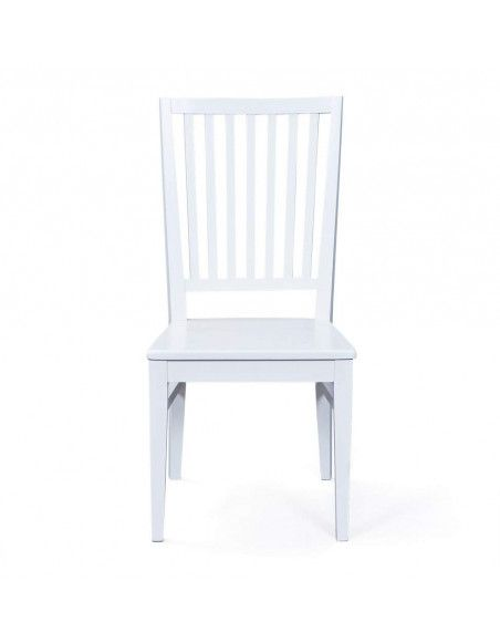 Chaise - Assise blanche