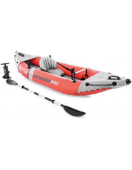 Kayak excursion pro K1 - Intex - L 91 x P 305 x H 46 cm - Rouge